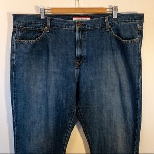 Tommy Hilfiger Men Size 44x32 Jeans Straight Fit